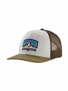 Casquette Fitz Roy Horizon Trucker - White W- Sage Khaki - Patagonia