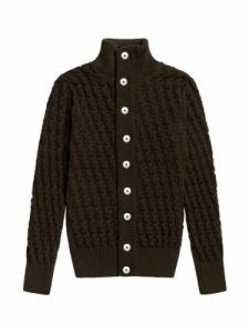 Stark cardigan - Lacquer Green - SNS Herning