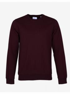 Classic Organic Crew - Oxblood Red - Colorful Standard