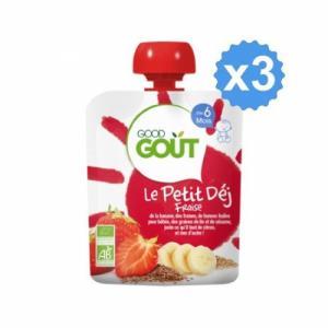 Good Gout Le Petit Dej Fraise x 3