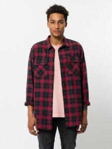 Chemise à carreaux rouge et noir - gabriel