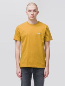 T-shirt jaune en coton bio - daniel