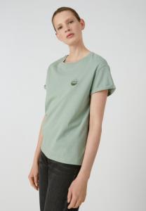 T-shirt vert en coton bio - naalin girl scout