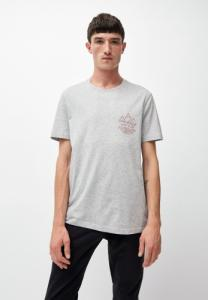 T-shirt gris en coton bio - jaames way to go