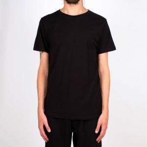 T-shirt noir en coton bio - stockholm - Dedicated