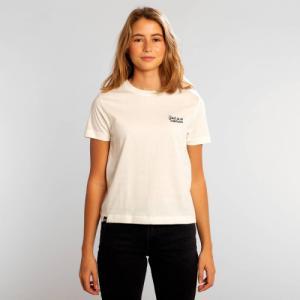 T-shirt blanc brodé - god is a woman