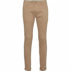 Pantalon chino beige en coton bio- joe