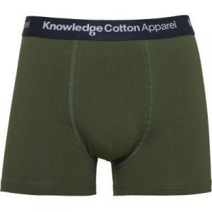 Boxer kaki en coton bio - Knowledge Cotton Apparel
