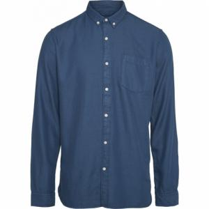Chemise bleu indigo en tencel et coton bio - Knowledge Cotton Apparel