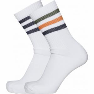Pack chaussettes hautes sport en coton bio - 2 paires - Knowledge Cotton Apparel
