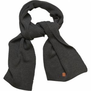 Écharpe grise en coton bio