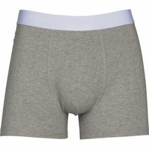 Pack t-shirt et boxer gris en coton bio