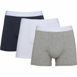 Pack 3 boxers en coton bio - Knowledge Cotton Apparel