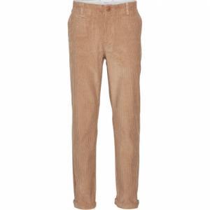 Pantalon marron velours en coton bio