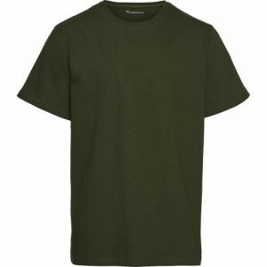 T-shirt vert forêt en coton bio
