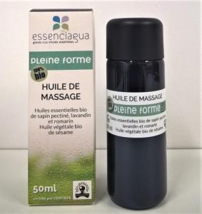 Huile de Massage BIO - Pleine Forme - Muscles et Articulations