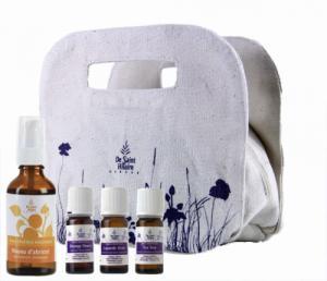 Trousse Aroma : huiles essentielles - huile végétale