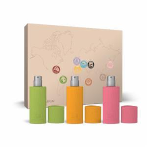 Coffret Collector 3 Eaux de parfum -  SAUDADE - MAZHAR - KADO