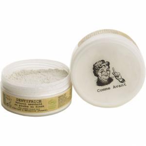 Dentifrice mentholé en poudre au Siwak