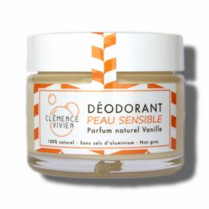 Déodorant naturel solide Vanille