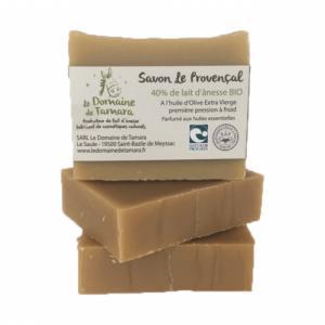 Savon Le Provençal - 40% de lait d'ânesse frais et bio