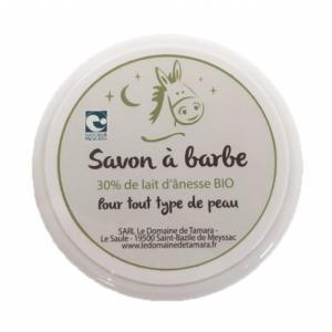 Savon à Barbe - 30% de lait d'ânesse frais et bio