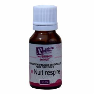 Composition d'huiles essentielles pour diffuseur - Nuit Respire