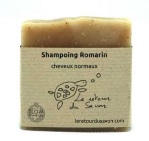 Savon shampoing solide au Romarin