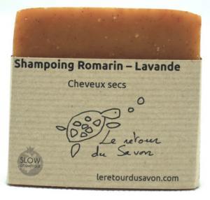 Savon Shampoing solide Romarin Lavande