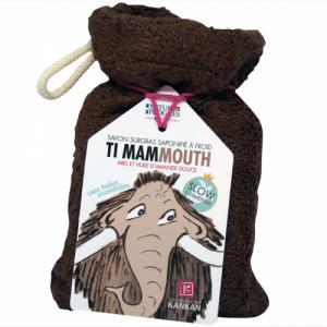 SAVON TI MAMMOUTH, savon surgras sans huiles essentielles + petit gant