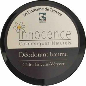 Déodorant baume - Cèdre Encens Vétyver