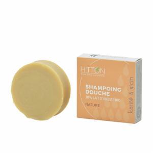 Savon shampoing Douche 30% lait d'ânesse (Karité Ricin)