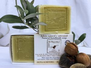Savon naturel olive - amande de Majorque