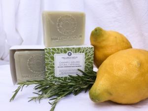 Savon Shampoing naturel olive - romarin - citron de Majorque