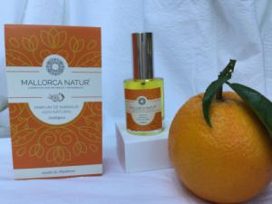 Parfum 100% naturel et bio à l'orange de Majorque - 30 ml