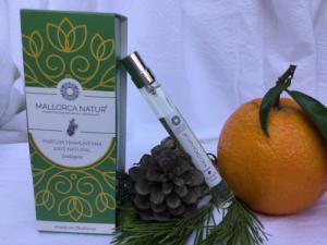 Parfum 100% naturel et bio au pin de Majorque - 10 ml