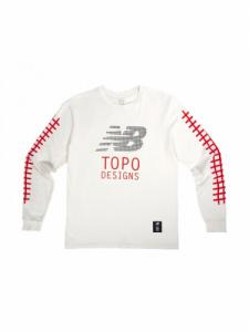 Graphic Tee - Natural - Topo Designs x New Balance