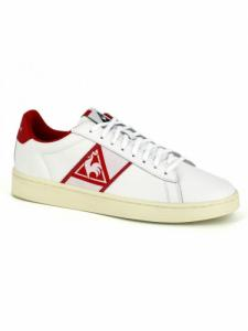 Classic Soft - Optical White-Pure Red - Le Coq Sportif