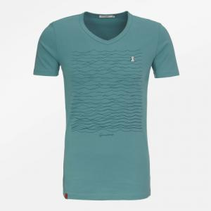 T-shirt Mouette col V taille S