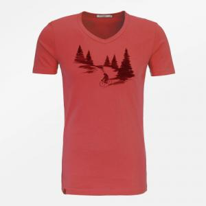 T-shirt slim Nature Bear Romantic