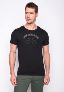 T-shirt Bike Leave Road