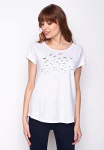 T-shirt imprimé Mouettes