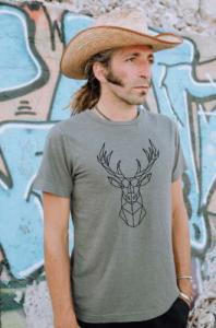 T-shirt Cerf