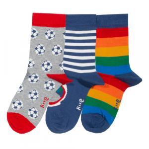 Pack de 3 paires de chaussettes multicolores