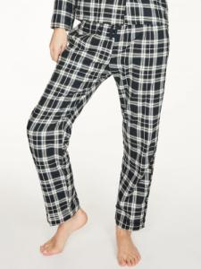 Pantalon pyjama à carreaux