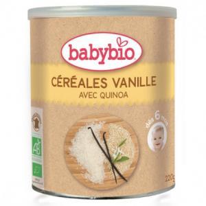 Céréales vanille bio dés 6 mois