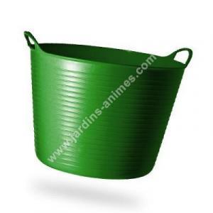 Baquet coloré RECYCLE vert olive 38L