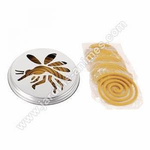 Spirales antimoustiques citronnelle x10