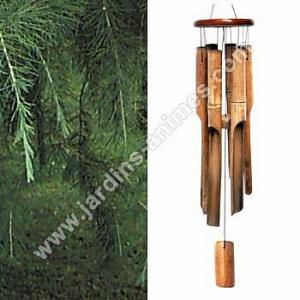 Carillon bambou naturel 50cm