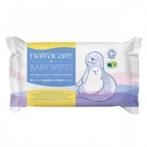 Lingettes en coton bio pour bébé
